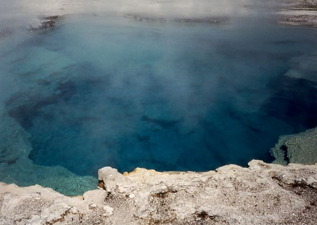 Sapphire Pool, Biscuit Basin, Yellowstone.