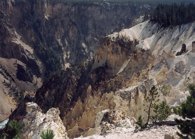 Seven Mile Hole Trail, Yellowstone.