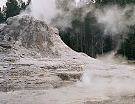 Gizmo Geyser, Upper Geyser Basin, Yellowstone